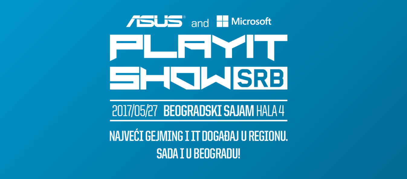 Play It Show - sajam gejming i IT industrije