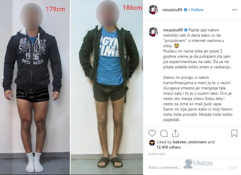 Istina je: Nikola Jovanović poznatiji kao NIXA ZIZU produžio je noge i lažirao nesreću!