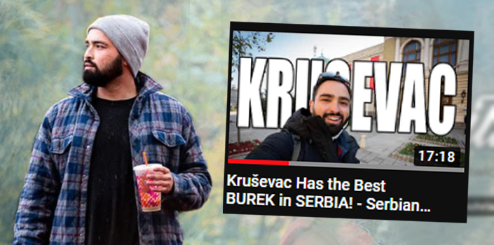 Poznati strani YOUTUBER Kris Rodrigez posetio je KRUŠEVAC za koga je rekao da ima NAJBOLJI... (VIDEO)