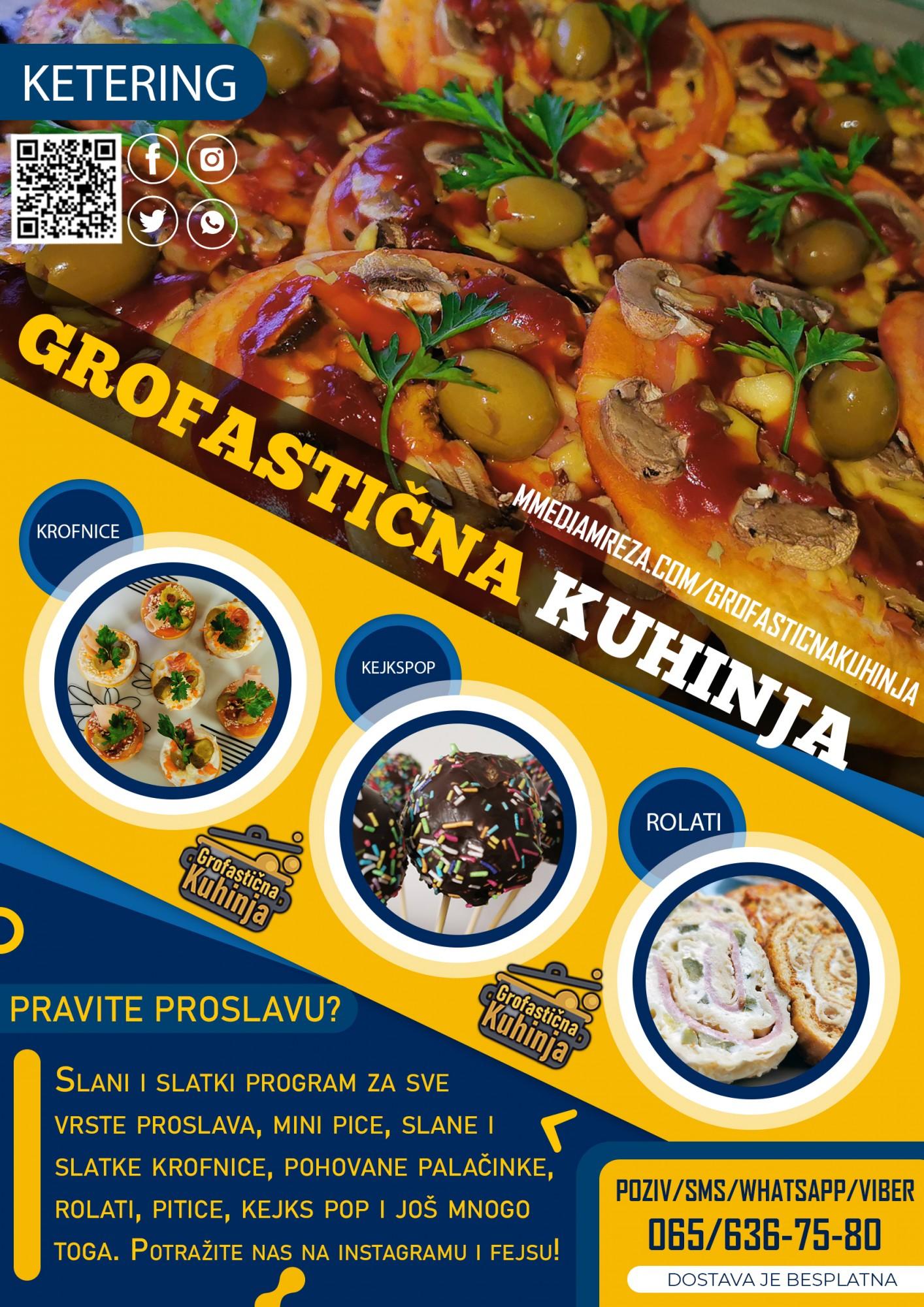 Grofastična kuhinja - Ketering