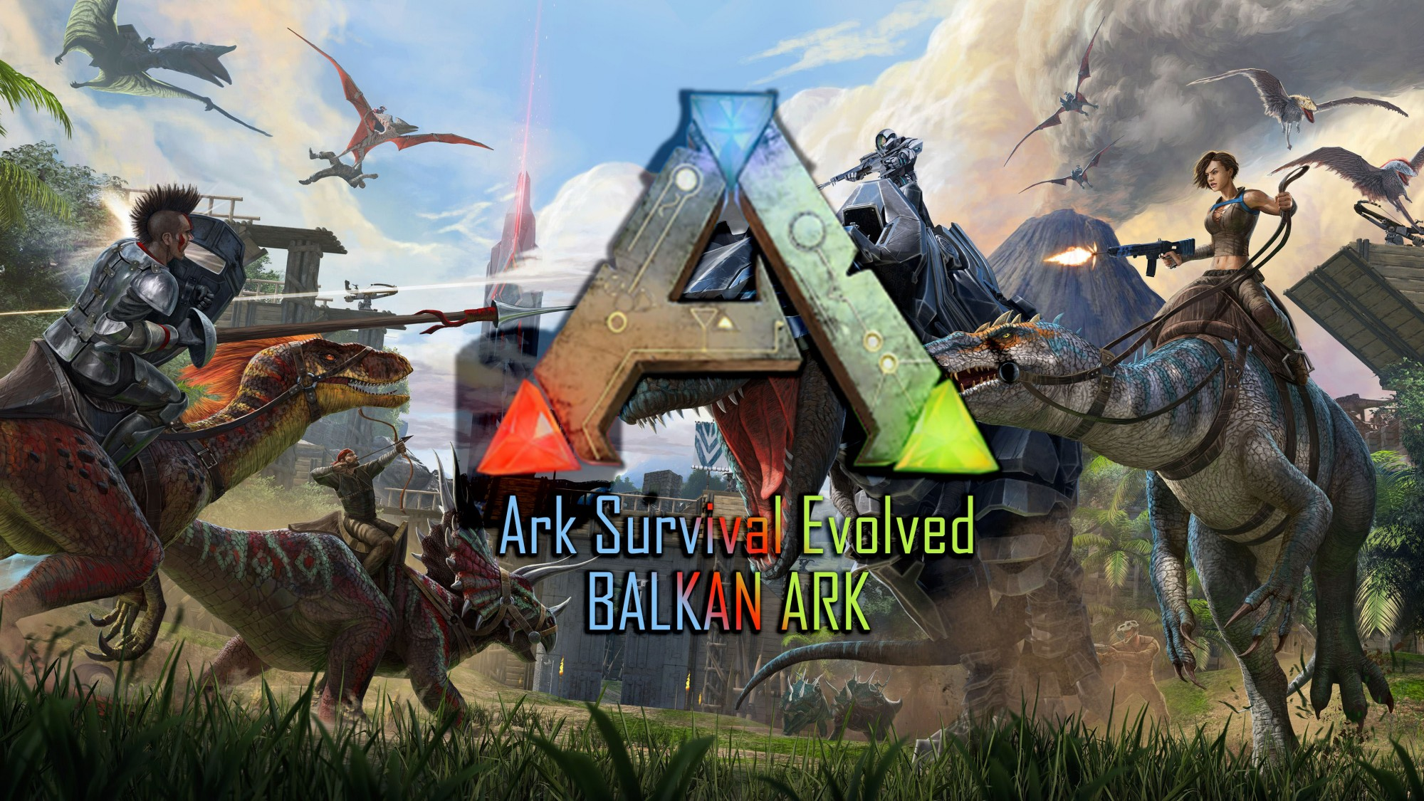 Ark Survival Evolved - BALKAN ARK server!