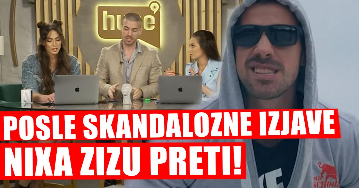 Nixa Zizu posle skandaloznih izjava devojkama preti da će ih izlomiti i ošišati! (VIDEO)