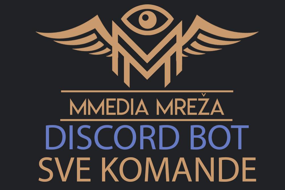 Mmedia Mreža (DISCORD BOT) - Sve komande