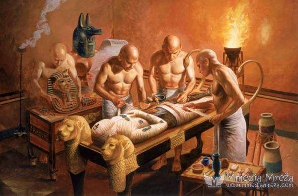 Proces MUMIFIKACIJE kod starih EGIPĆANA