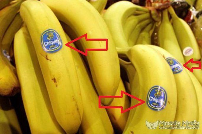 Šta označavaju oznake na Bananama