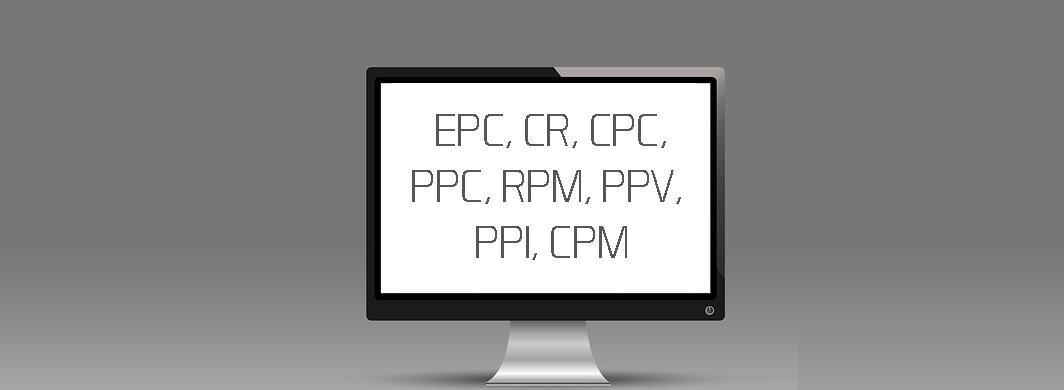 Šta označavaju oznake: EPC, CR, CPC, PPC, RPM, PPV, PPI, CPM, Impression, Affiliate Link...?