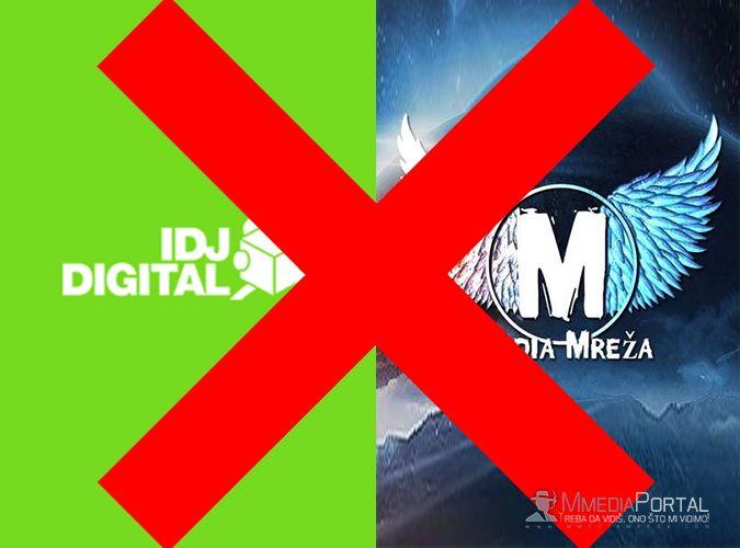 IDJ DIGITAL i Mmedia Mreža raskinuli saradnju