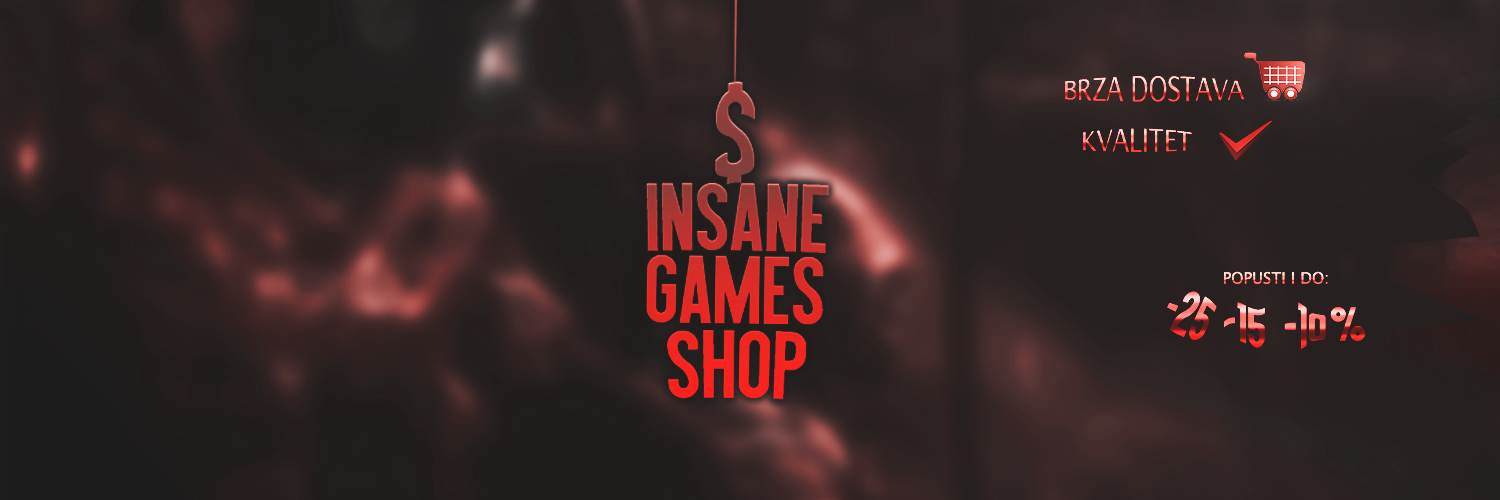Insane Games Shop - Najpouzadniji i najjeftiniji PRODAVAC  steam digitalnih kodova, naloga softwarea , i digitalnih proizvoda na BALKANU!