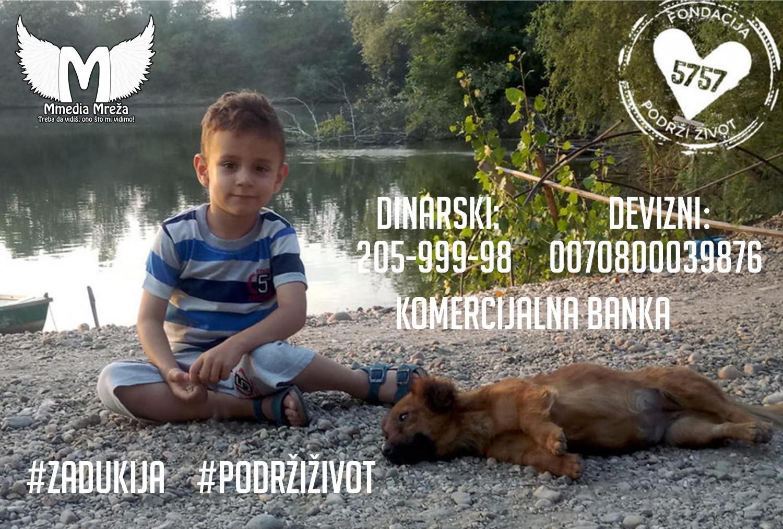 Pomozimo malom Dušanu da ode na lečenje u Španiju #PodržiŽivot