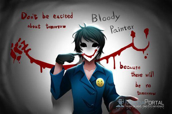 Bloody painter(krvavi slikar)