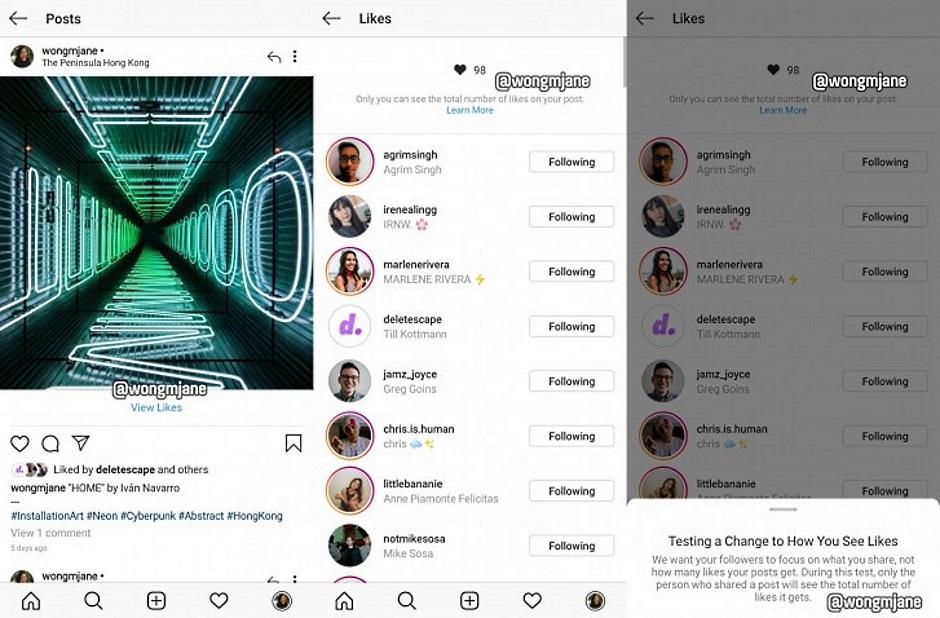 Radikalna Instagram promena - ali, zašto?! INSTAGRAM UKIDA LAJKOVE!