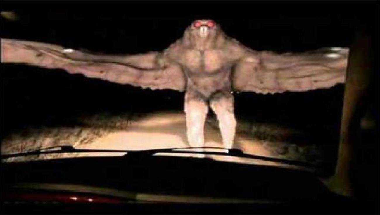 Mothman, Čovek Moljac iz Pojnt Plezenta (Point Pleasant)